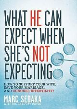 What He Can Expect When She's Not Expecting: How to Support Your Wife,-ExLibrary