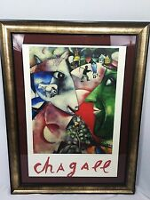 "Marc CHAGALL ""I and the Village"" 1985 poster the Museum of Modern Art New York"