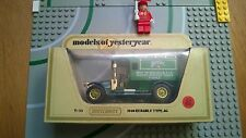 Matchbox Yesteryear Y 23 Renault T Perrier Van made in England Toy O Guage ?