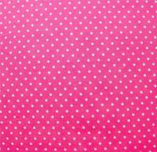 Pink Dot Fabric Quilting Fabric Lakehouse Pink Polka Dot Fabric By The 1/2 Yard