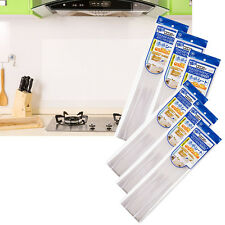 Transparent Anti Oil&Heat Wall Paper Sticker Kitchen Decal Grease Oil Proof New