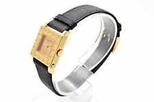 Authentic Dior Ladies Watch gold black watches gold AS IS RefNo 64550