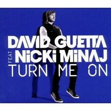 "DAVID GUETTA FEAT. NICKI MINAJ ""TURN ME ON"" SINGLE CD NEUWARE"