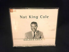 Nat King Cole, Golden Greats, 3 CD, 2001