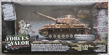 Forces OF VALOR CARRI ARMATI 80314 Tedesco Panzer IV TANK 1/32/Dragon King Country