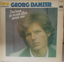 LP Georg Danzer Des Kaun Do No Ned Ollas Gwesn Sein,cleaned Vinyl VG+ ,M Records