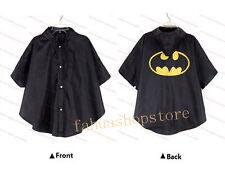 Kids Rain Coat children Rainwear Kids Waterproof Superhero Rainsuit Batman