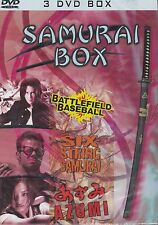 "DVD -  Samurai Box / ""Azumi""Six-String Samurai""Battlefield Baseball"" / #5686"