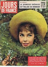 COUVERTURE MAGAZINE,COVERAGE Jours de France  n°227 21/03/59 Leslie Caron