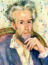 PIERRE AUGUSTE RENOIR PORTRAIT OF A MAN OLD MASTER ART PAINTING PRINT 2469OMA