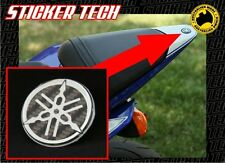YAMAHA R6 R1 08 TAIL FAIRING COVER CARBON FIBRE TUNING FORK EMBLEM BADGE STICKER