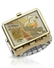 DISNEY New  Donald Duck Ring in Two Tone Base Metal.