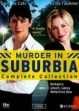 Murder in Suburbia: Complete Collection (DVD, 2014, 4-Disc) SHIPS FREE in 24 hs