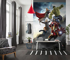 254x184cm Wall Mural photo wallpaper Avengers Age of Ultron kids room Boys