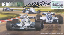 1980 WILLIAMS COSWORTH FW07B BRANDS HATCH F1 cover signed MIKE THACKWELL