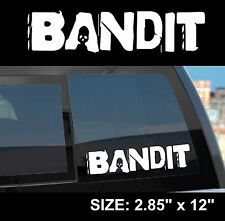 "Borderlands 2 / Pre-Sequel ""Bandit"" Gun Manufacturer Sticker Decal"