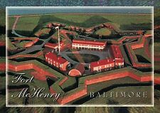 Fort McHenry, Baltimore, Maryland, War of 1812, Military History MD --- Postcard