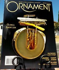 ORNAMENT MAGAZINE VOL 32 NO 1 2008 CHINESE TEXTILES ANCIENT JEWELRY FREE SHIP