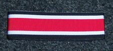 "GERMAN - WW 2, Iron Cross 2nd Class Ribbon x 6"".  Inc. UK p&p"