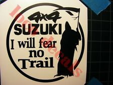 offroad  stickers - for Suzuki Samurai 4X4 Decal