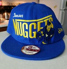 New Era NBA Denver Nuggets Hat Cap Marvel Snapback 9Fifty Ironman Flat Bill