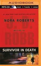 In Death: Survivor in Death 20 by J. D. Robb (2014, MP3 CD, Unabridged)
