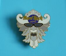 Hard rock cafe pin badge hotel pool area fountain face Orlando