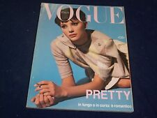 1993 OCTOBER VOGUE ITALIA MAGAZINE - JAIME RISHAR COVER - GREAT FASHION - O 5301
