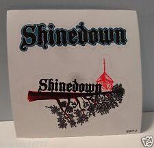 SHINEDOWN RARE PROMO STICKER ALBUM BAND MUSIC ROCK