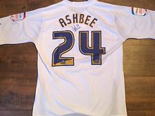 2010 2011 Preston NE Ashbee Match Worn Club COA Marie Curie Football Shirt