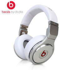 Beats by Dr. Dre Pro Over-Ear Headphones - White / Silver ( SELLER REFURBISED )