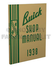 1938 Buick Repair Shop Manual 38 Service Century Limited Roadmaster Special