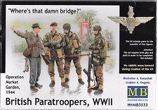 1/35 Master Box 3533 - British Paratroopers, WWII Market Garden  4 figure set
