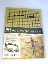 "The Beadsmith Large Macrame Board -10""x14"" Grid -Jewellery Making Tools Supplies"