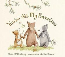 You're All My Favorites by Sam McBratney (2008, Board Book)