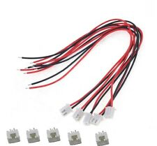 5Sets XH2.54 2Pin 1007 24AWG Single End 15cm Wire To Board Connector  CA NEW