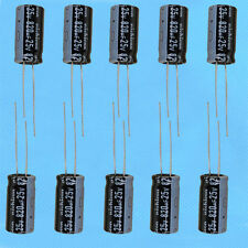 10PCS Radial Electrolytic Capacitor 820UF 25V NEW