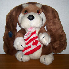 Vintage applause basset hound puppy kris