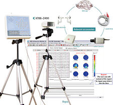 KT88-2400 Digital EEG Mapping System 24-channel,EEG machine system,2 tripods