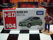 TOMICA #104 TOYOTA VITZ 1/64 SCALE NEW IN BOX