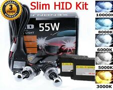Xenon Slim 55W H4 HB2 9003 HID Dual Hi Lo HeadLight Conversion Kit 6000k White