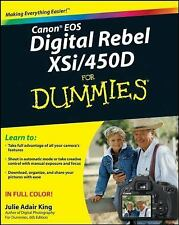 Canon EOS Digital Rebel XSi/450D For Dummies paperback