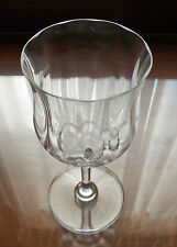 "Baccarat Crystal Capri Optic Tall 7 1/8"" Water Goblet Buy 1 up to 9"