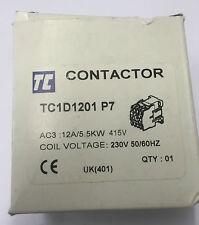 TC Contactor TC1D1201 P7 12A/5.5KW 230V 50/60HZ - SS125