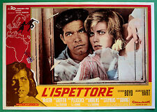 T34 FOTOBUSTA L'ISPETTORE STEPHEN BOYD DOLORES HART GRIFFITH PLEASENCE GORING 5
