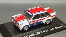 Kyosho Lv CM's 1/64 Rally Car  FIAT 131 ABARTH RALLY 1977 Sanremo new CMs