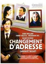 "DVD ""Changement d'adresse ""  Dany Brillant   NEUF SOUS BLISTER"