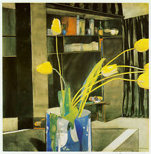 Yellow Tulips, Charles Rennie Mackintosh, c1922 10 x 12 inch ready mounted print