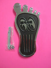 MOONEYES FOOT PEDAL  FAMOUS MOON LOGO  HOT RODS GASSERS RAT RODS CUSTOMS BUGGY