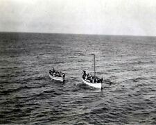 New 8x10 Photo: Survivors in Lifeboats after RMS TITANIC Disaster